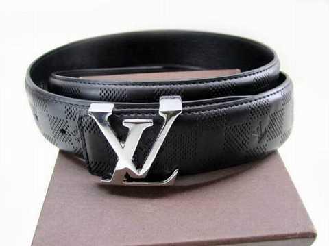 ceinture louis vuitton damier noir et gris 568959846b3