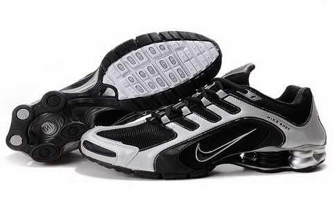 Nike Shox Rivalry Blanc Et Noir
